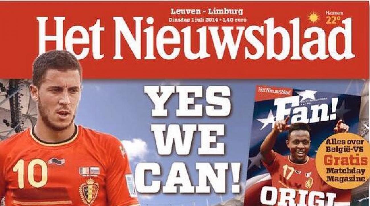 Belgian newspaper trolls US with 'Yes We Can' Headline