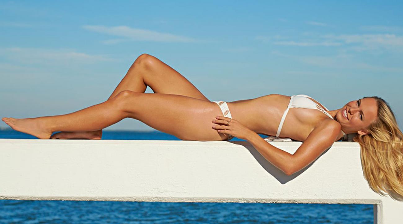 Caroline Wozniacki, SI Swimsuit 2015