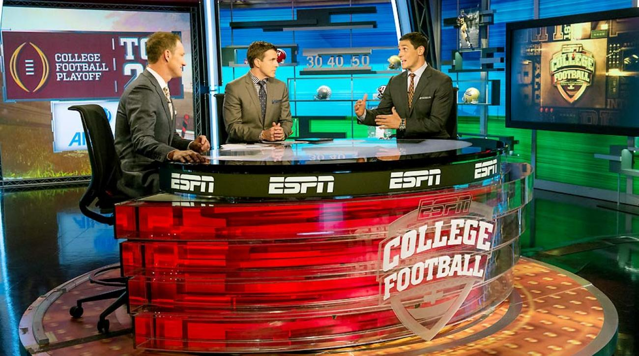 college football selection committee rankings espn ncaa schedule
