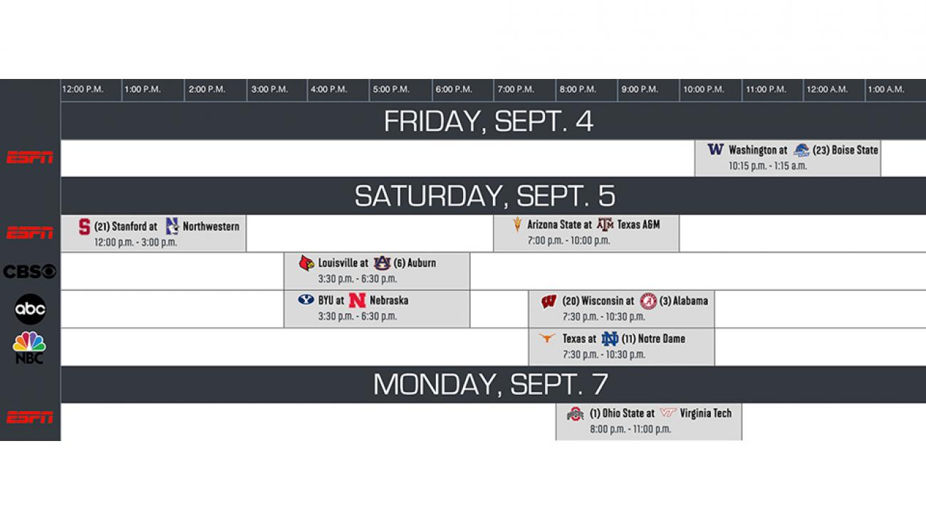 college football schedule week 12 scores ncaaf
