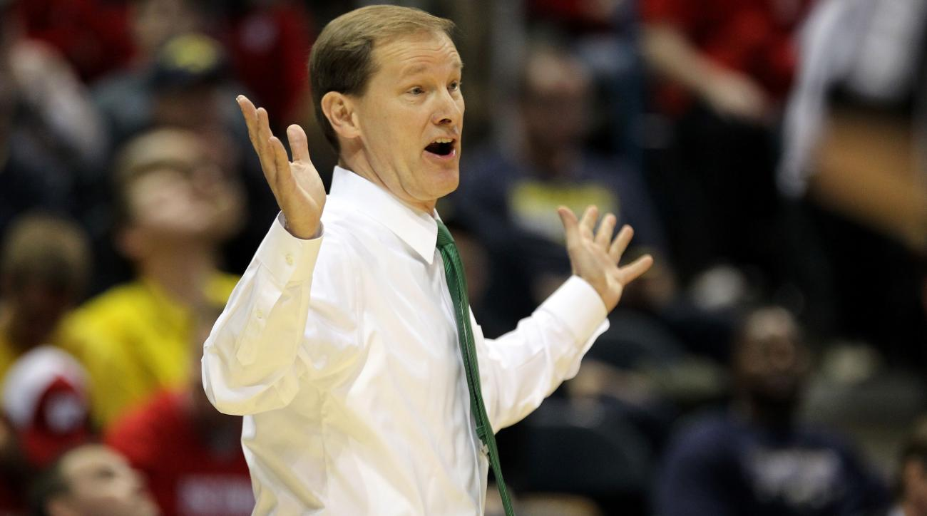 Oregon head coach Dana Altman