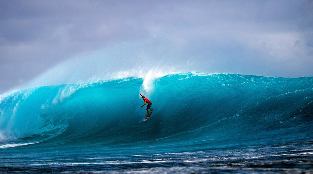 Dane Reynolds at the Fiji Pro.