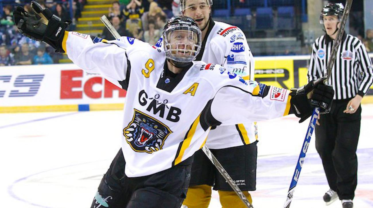 David-Alexandre Beauregard scored an impressive 540 goals over his 20-year hockey career.