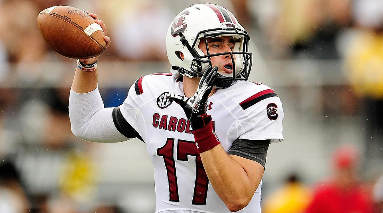 Dylan Thompson has seen significant action as South Carolina's backup quarterback in previous seasons.