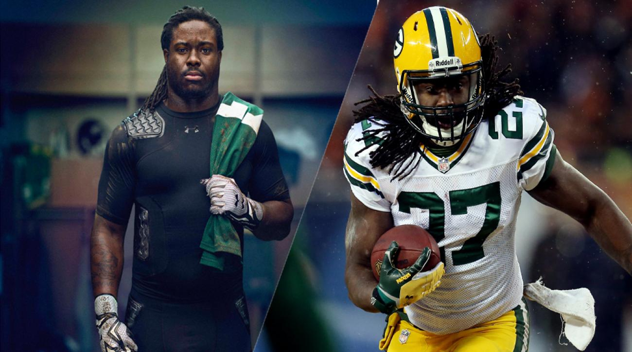 Green Bay Packers running back Eddie Lacy
