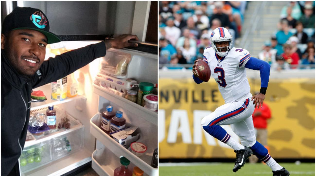 Heading into his second season in the NFL, EJ Manuel says he's fine-tuning every aspect of his performance, including his diet.