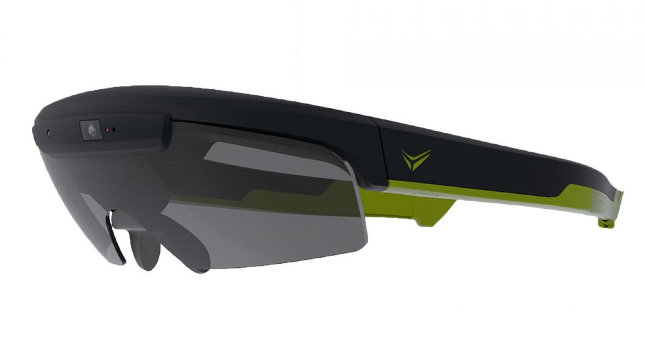 The Raptor smartglasses