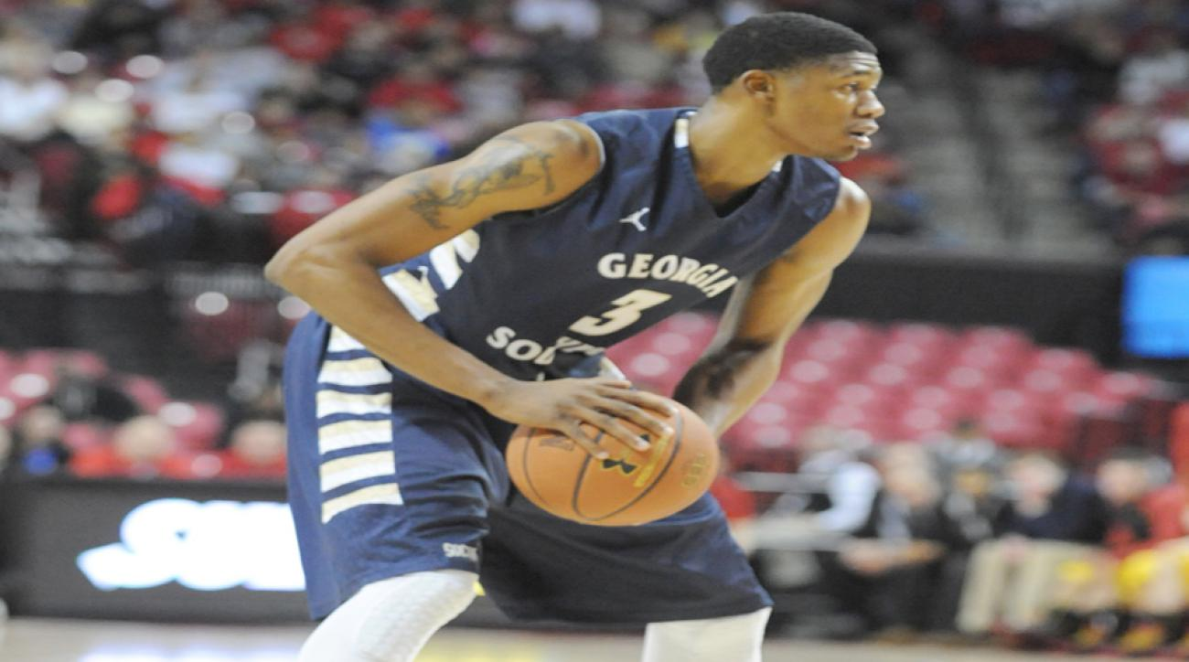 Georgia Southern's Eric Ferguson was suspended indefinitely