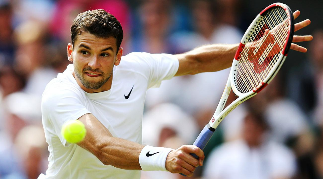 Grigor Dimitrov sailed past Luke Saville, 6-3, 6-2, 6-4 to reach the third round at Wimbledon for the first time in his career.