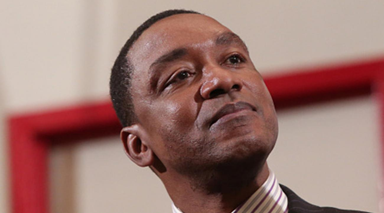isiah thomas, sexual harrasment, wnba, madison square garden, basketball, james dolan, president
