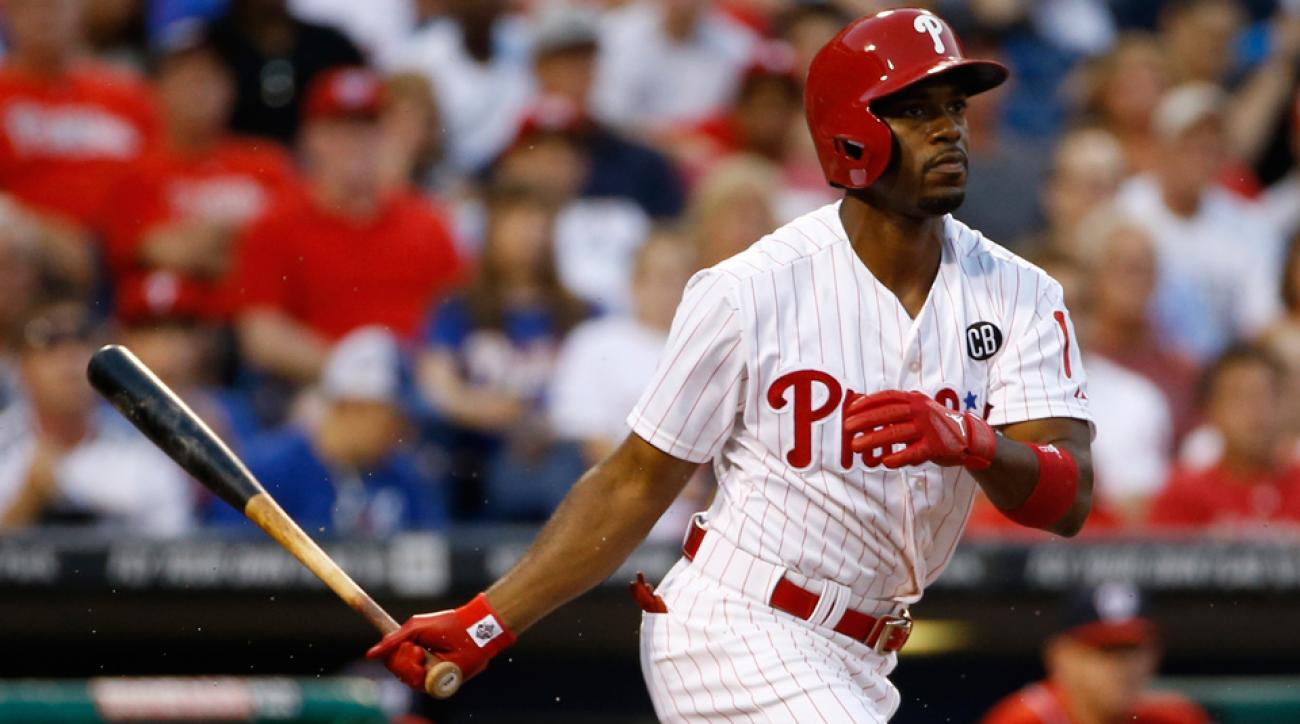 Shortstop Jimmy Rollins is one of a handful of Phillies veterans who could be moved by the team ahead of this season's trade deadline.