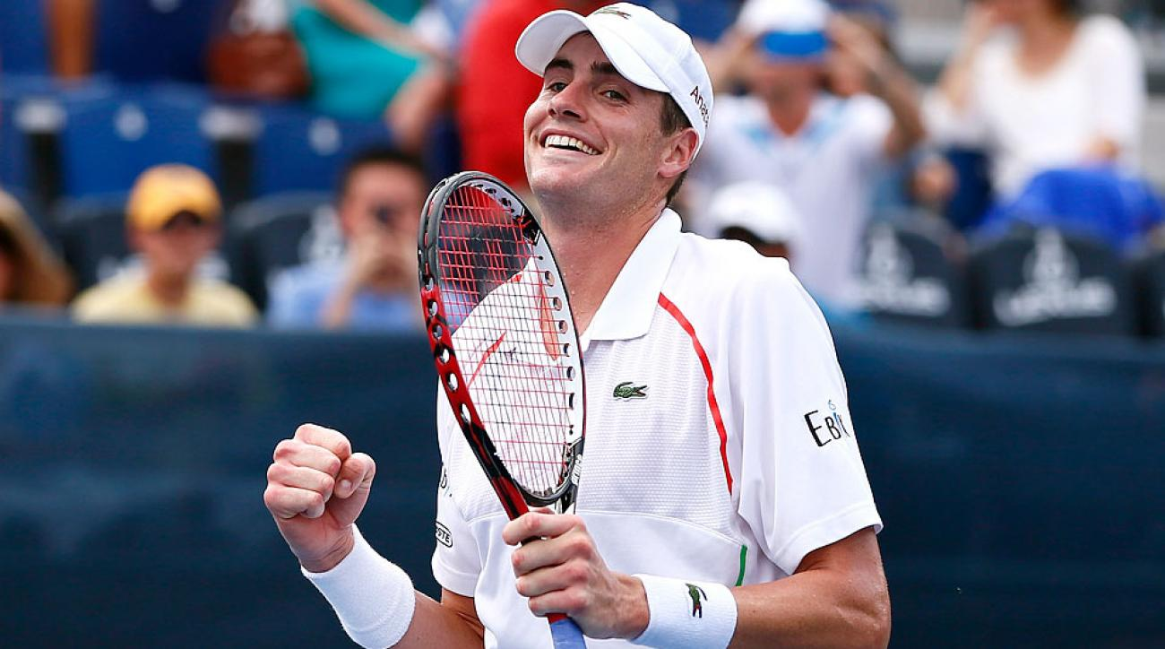 John Isner has won seven of his nine titles on U.S. soil, including back-to-back crowns at the Atlanta Open.