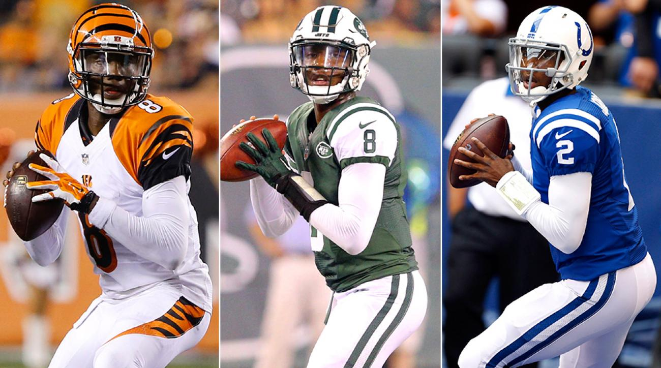 Josh Johnson has been signed and released by the Bengals, Jets and Colts in 2015, and he was picked up by the Bills this week after Tyrod Taylor's injury.
