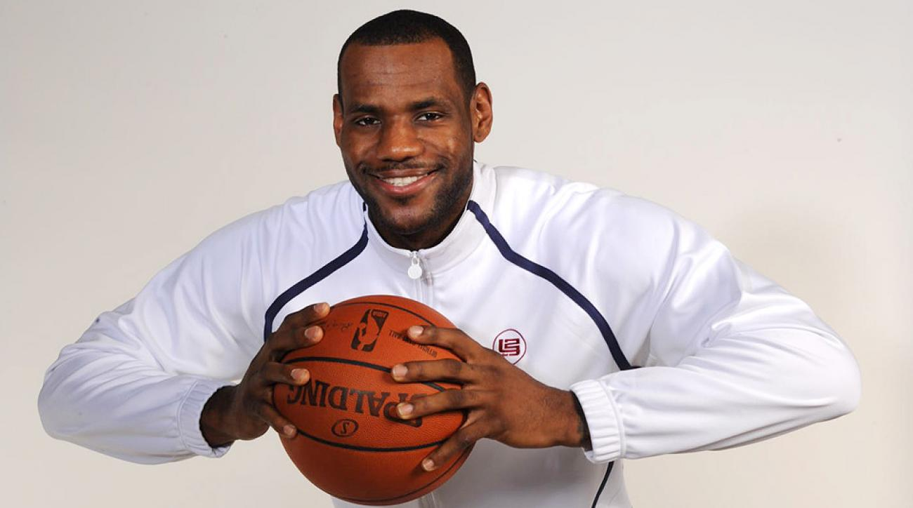 LeBron James, pictured here in 2008, returns back to the Cleveland Cavaliers after playing for four years with the Miami Heat.