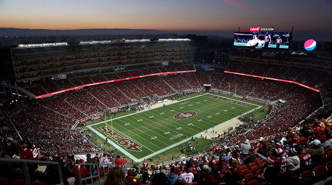 Levi's Stadium in Santa Clara, Calif.