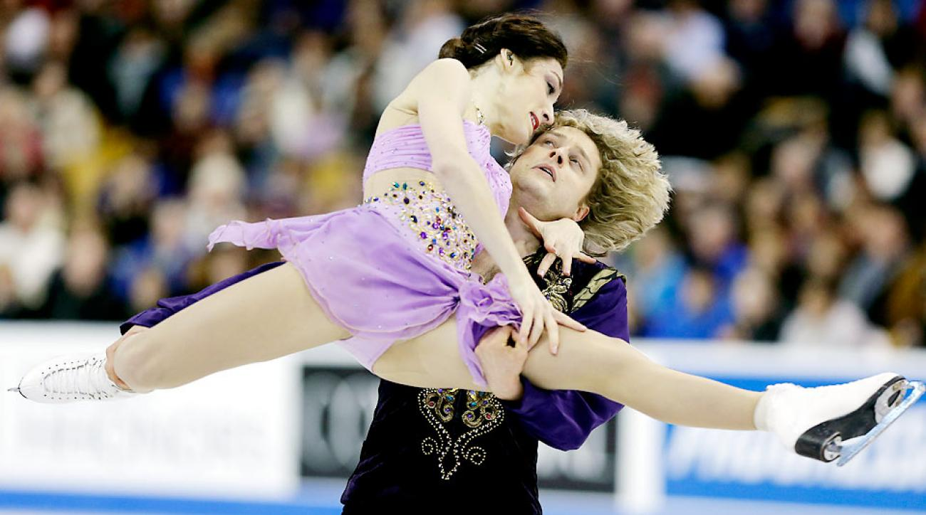 U.S. skaters Meryl Davis and Charlie White will face Canadian rivals Tessa Virtue and Scott Moir for the ice dancing gold.