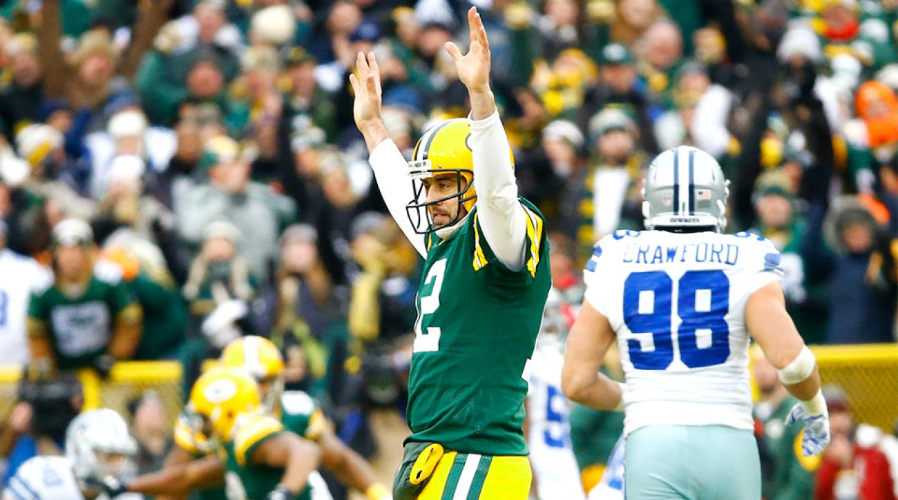 Image result for cowboys aaron rodgers