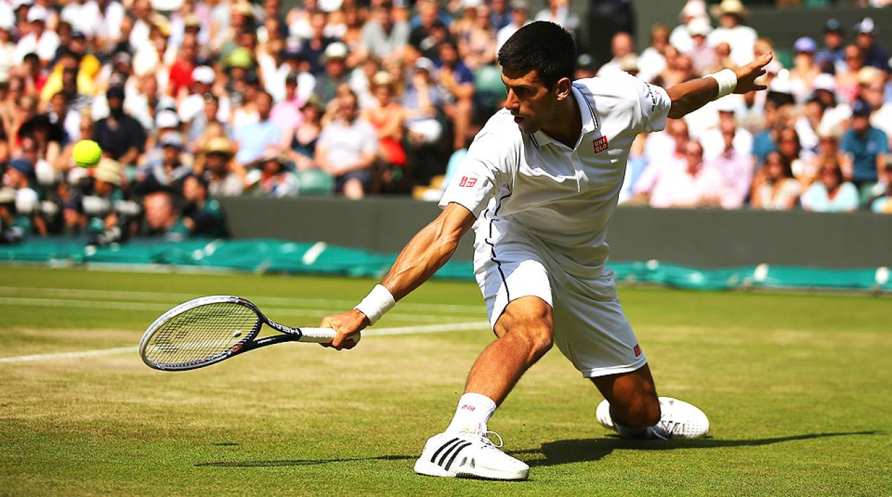 Novak Djokovic fell down a set to Marin Cilic, but dug in deep and won the final two sets and the match.
