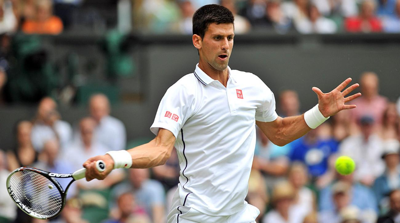 Novak Djokovic needed just 88 minutes to oust Andrey Golubev in straight sets.