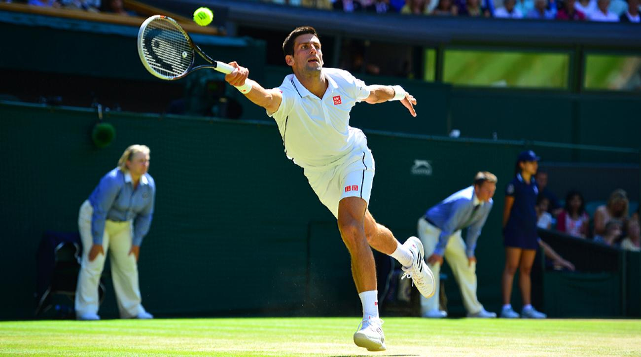 Novak Djokovic is chasing his first Grand Slam victory since winning the Australian Open in 2013.