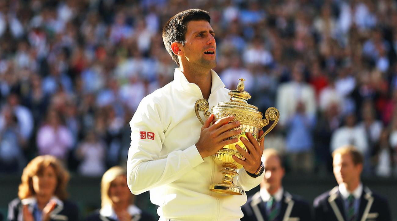Novak Djokovic outlasted Roger Federer in five tight sets to win his second title at Wimbledon.