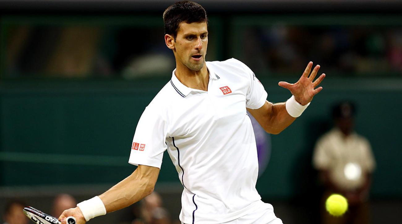 Top-ranked Novak Djokovic is set to play his first tournament since winning Wimbledon last month.