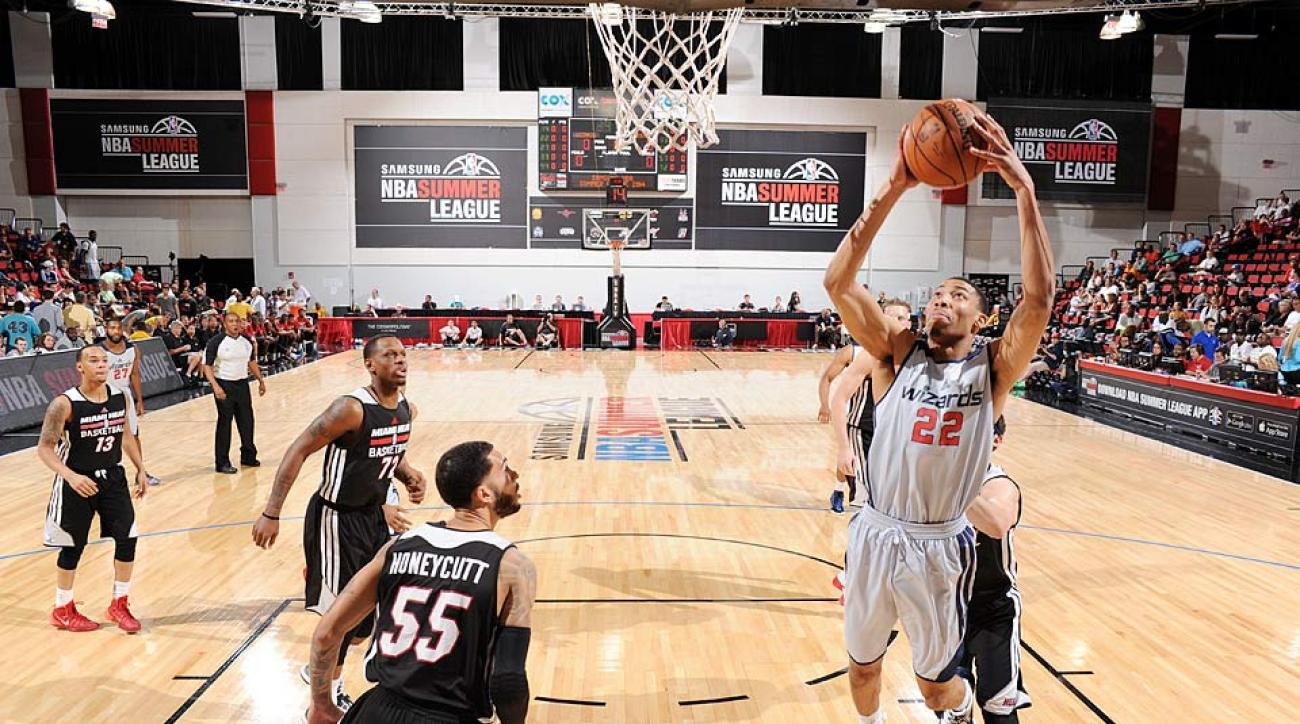 Otto Porter, the third pick in the 2013 draft, averaged 19 points and 5.8 rebounds in six games at the Las Vegas Summer League.