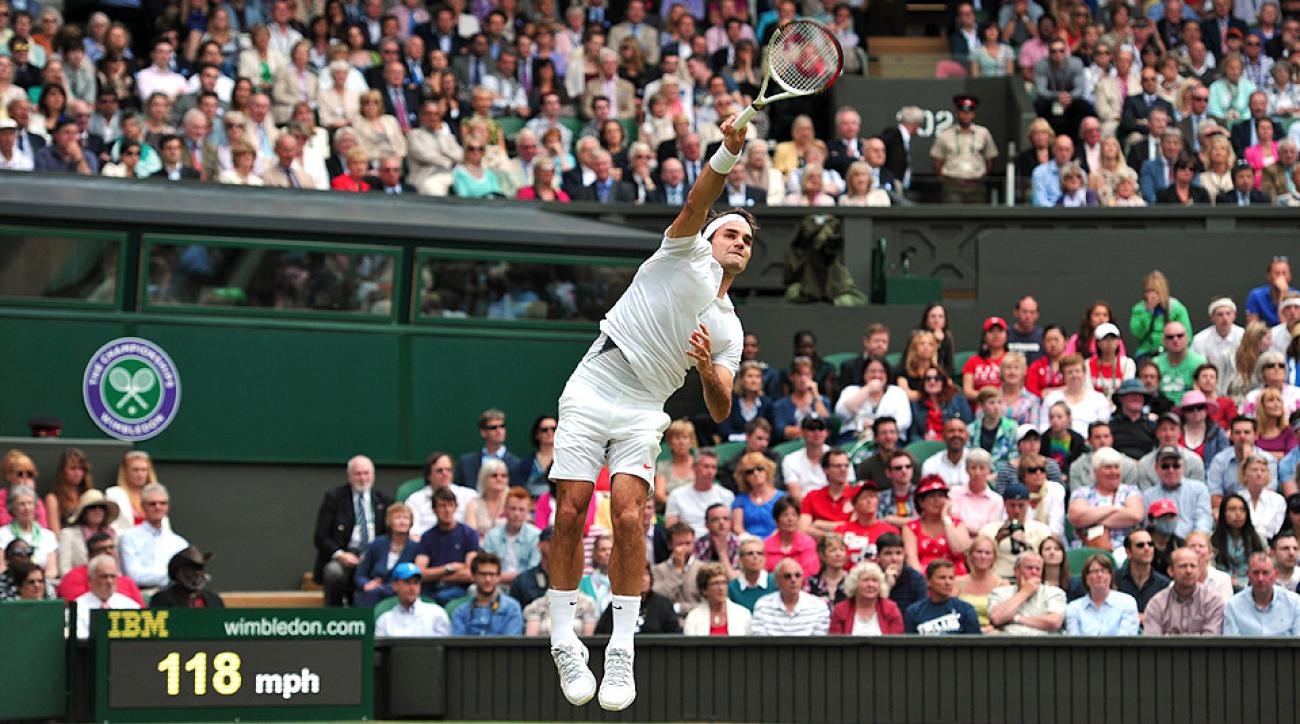 Roger Federer suffered a shocking upset to Sergiy Stakhovsky in the second round of Wimbledon in 2013.