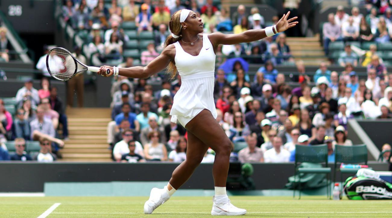 Serena Williams crashed out in the third round to Wimbledon to Alize Cornet.