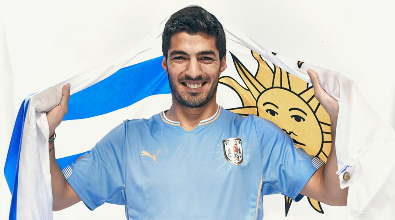 Luis Suarez will look to lead Uruguay on another deep run in the World Cup.