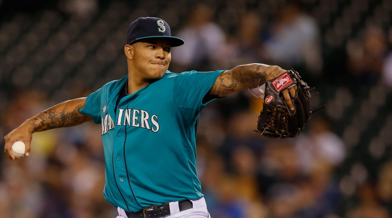 Taijuan Walker is out, and Stephen Pryor is in, as the Mariners set their rotation heading into the All-Star break.