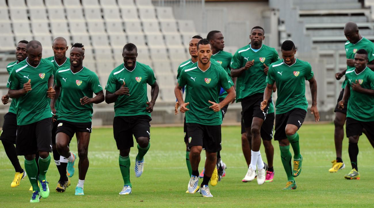 The Togo national soccer team