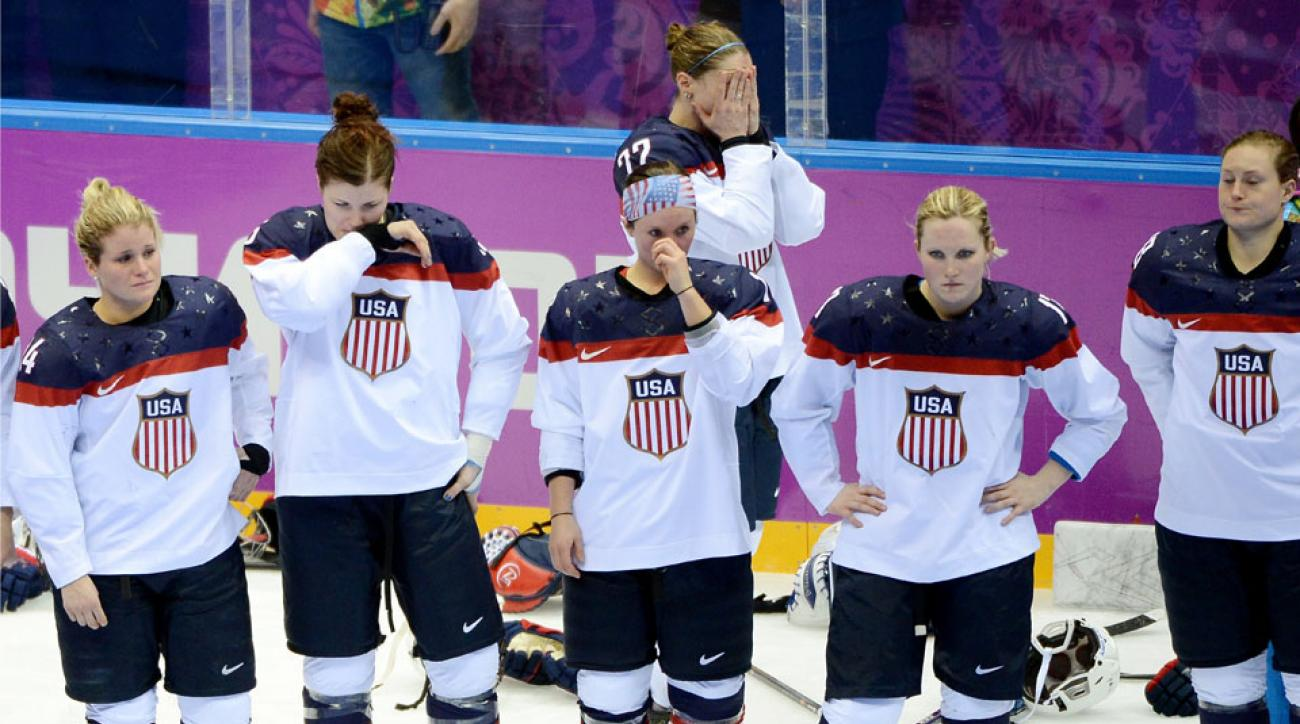 The U.S. blew a late two-goal lead and opened the door for Canada's overtime win.