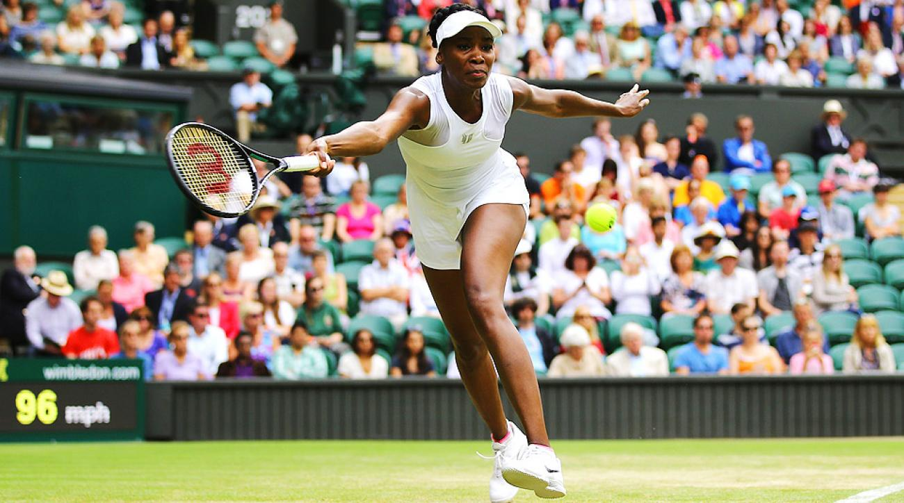 Venus Williams played valiantly against 2011 Wimbledon champion Petra Kvitova, but lost a service match at the most inconvenient time.