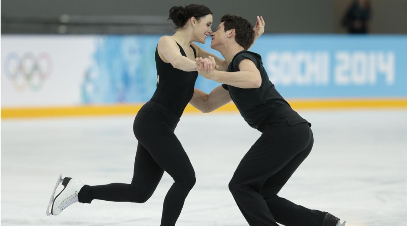 The reigning gold medalists might tweak their performance during the Olympics.