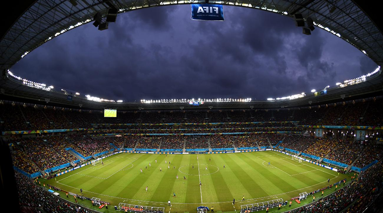 The rain in Recife won't quit, so how will Arena Pernambuco react to the harsh weather conditions?