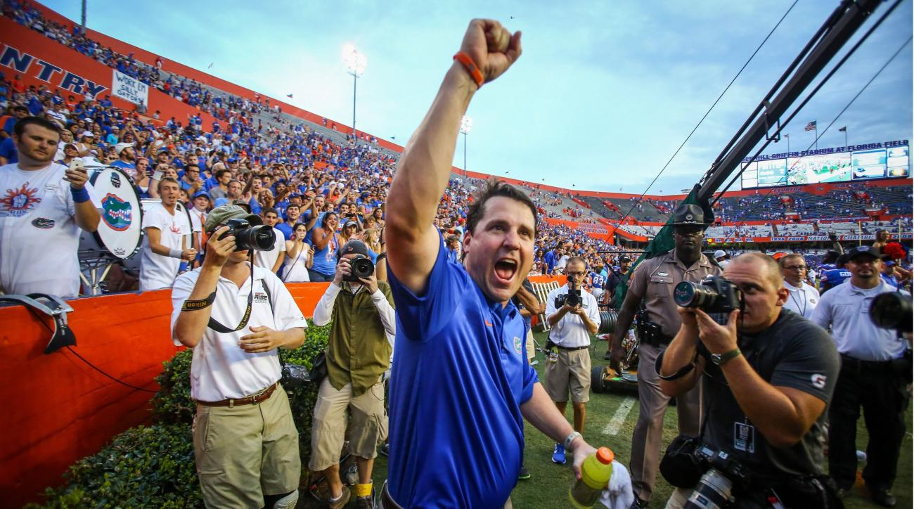 Will Muschamp just got the 10th commitment of the Gators' 2015 recruiting class.