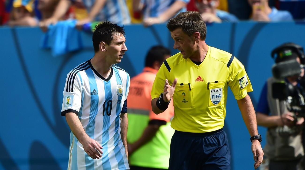 Nicola Rizzoli will referee his first World Cup final on Sunday.