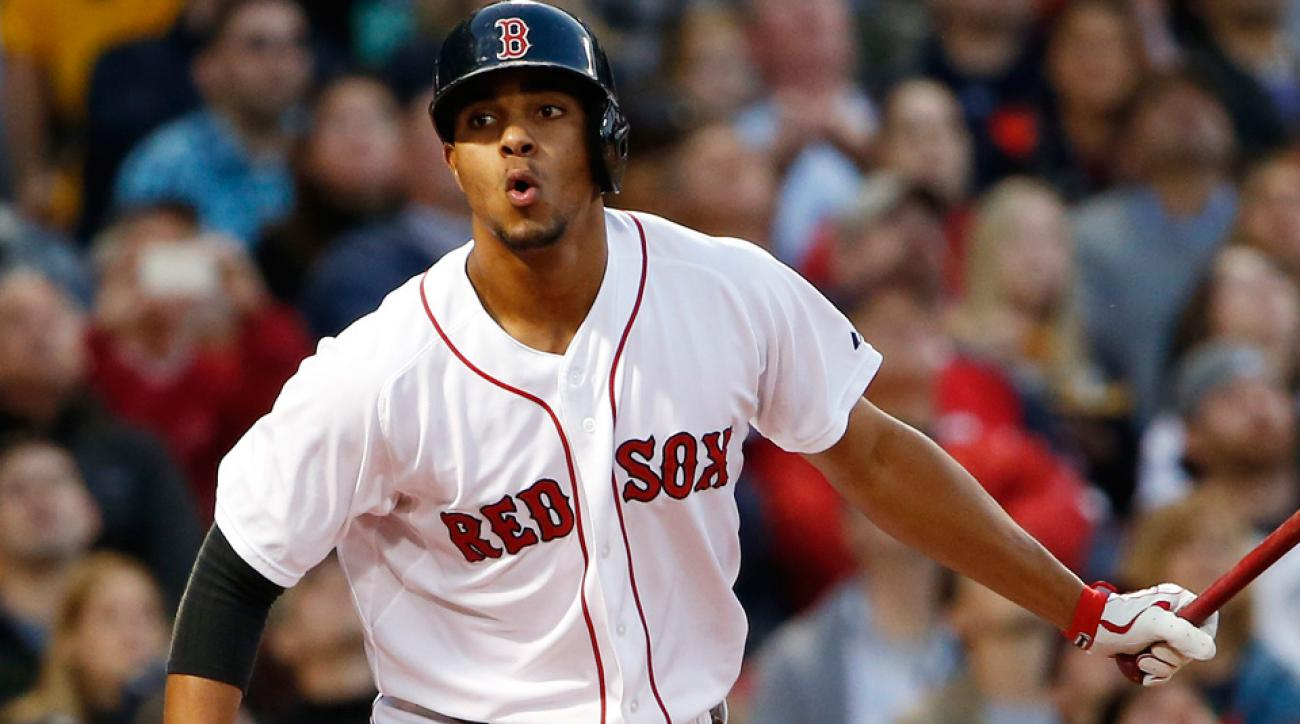 Xander Bogaerts is hitting just .131/.179/.242 with a 28/4 strikeout-to-walk ratio in 106 PA since Stephen Drew returned to the Red Sox on June 2.