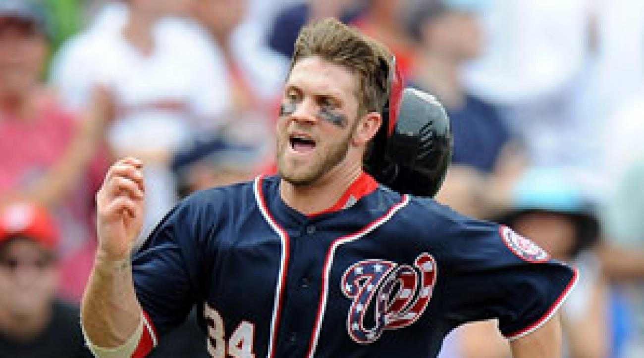 Few major leaguers play harder than Bryce Harper and in 2013 few will be better than the Nationals' 20 year old outfielder.