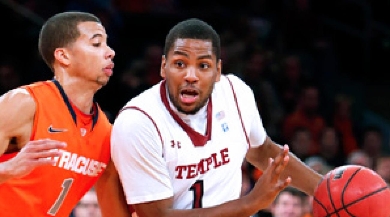 Khalif Wyatt led Temple to an upset of a top 10 team for the fifth straight season.