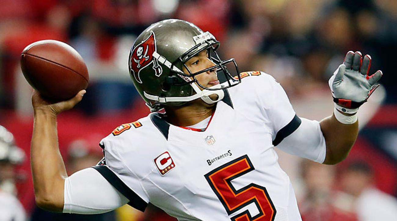 After throwing 16 touchdown passes in 2011, Josh Freeman rebounded with 27 scoring passes in 2012.