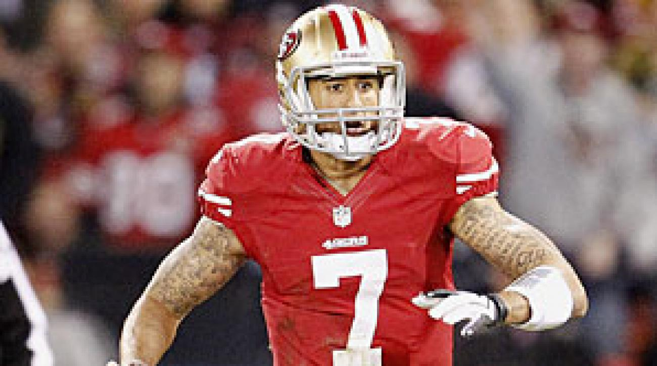 After his 444-yard outing against the Packers, Colin Kaepernick has caught the attention of fantasy football owners looking ahead to next season's drafts.