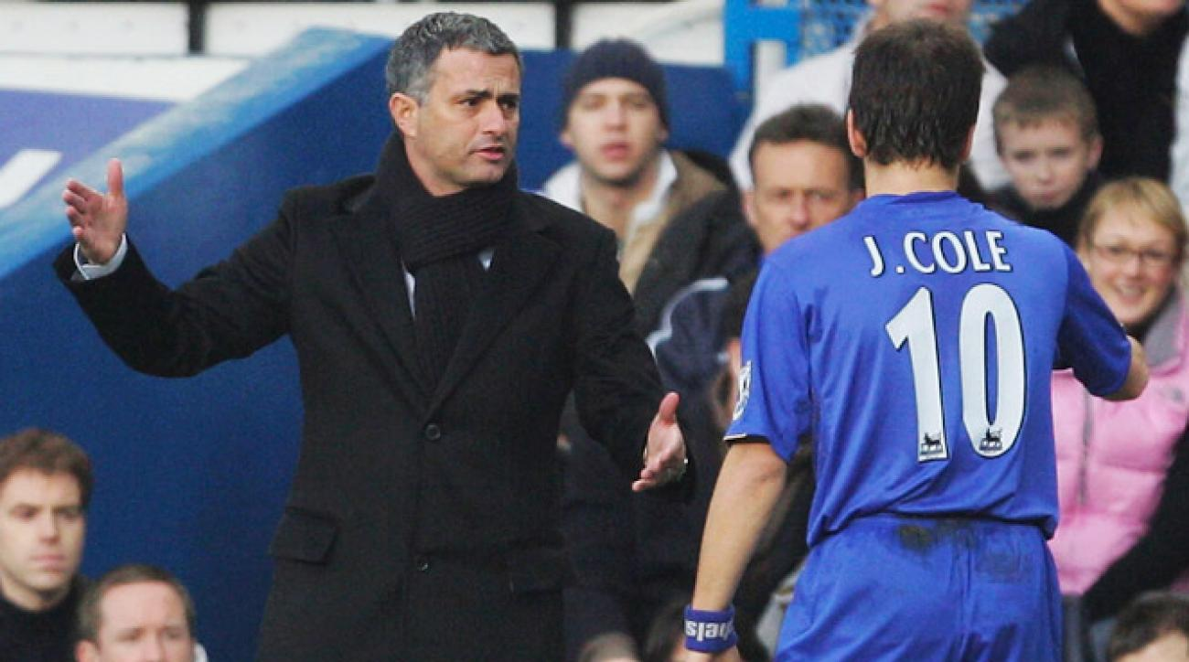 José Mourinho managed Chelsea from 2004-07, during which time he won two Premier League titles.