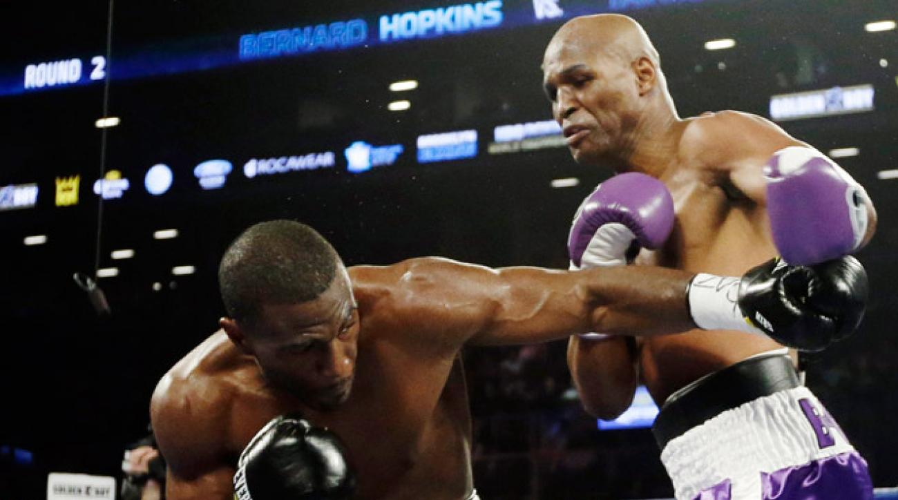 With his 53rd career victory, Bernard Hopkins became the oldest man ever to win a major title.
