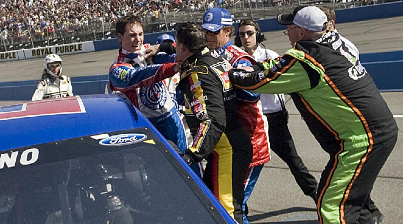 Aggressive veterans like Tony Stewart always gripe about aggressive young drivers like Joey Logano.