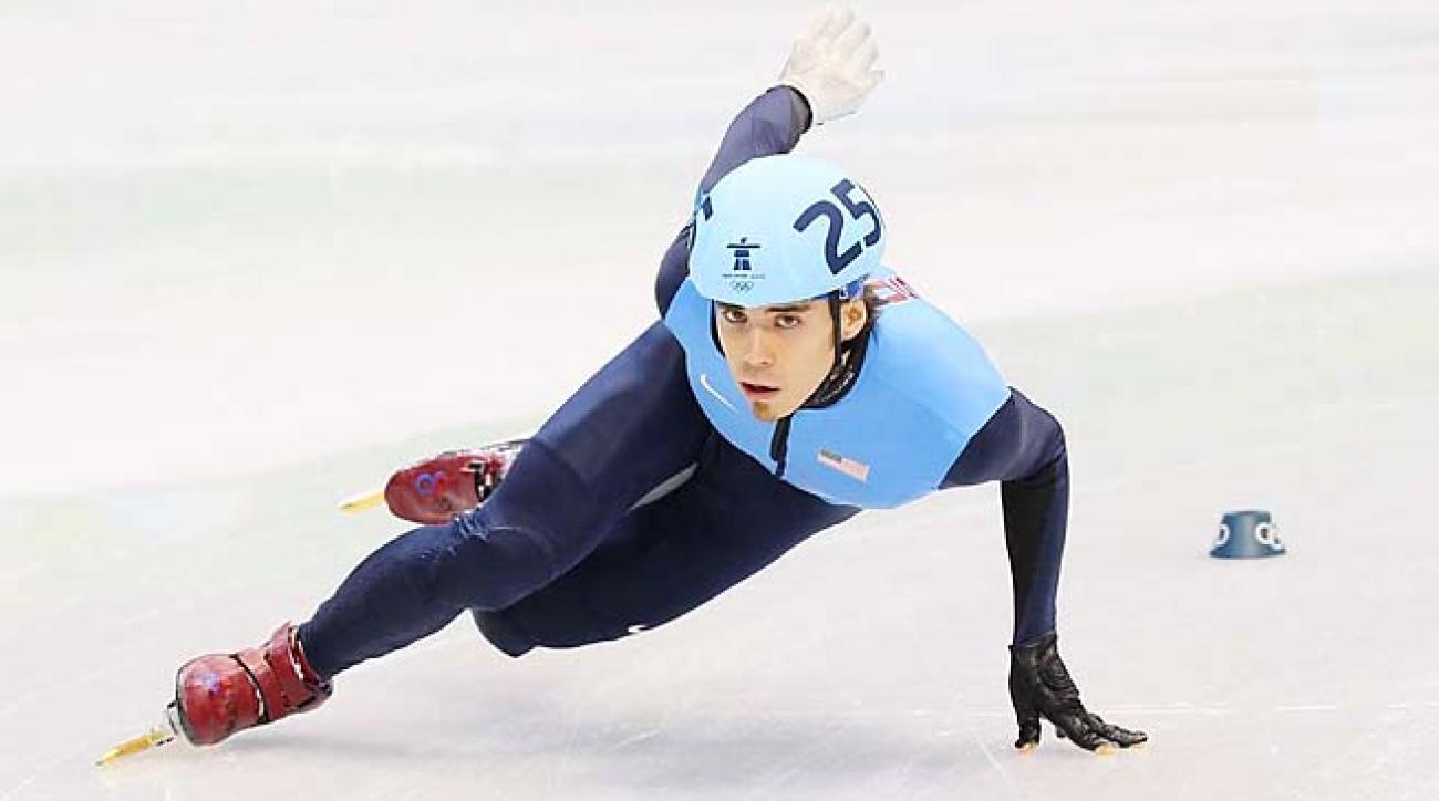 Apolo Ohno completed his career in Vancouver, across the border from where he grew up.