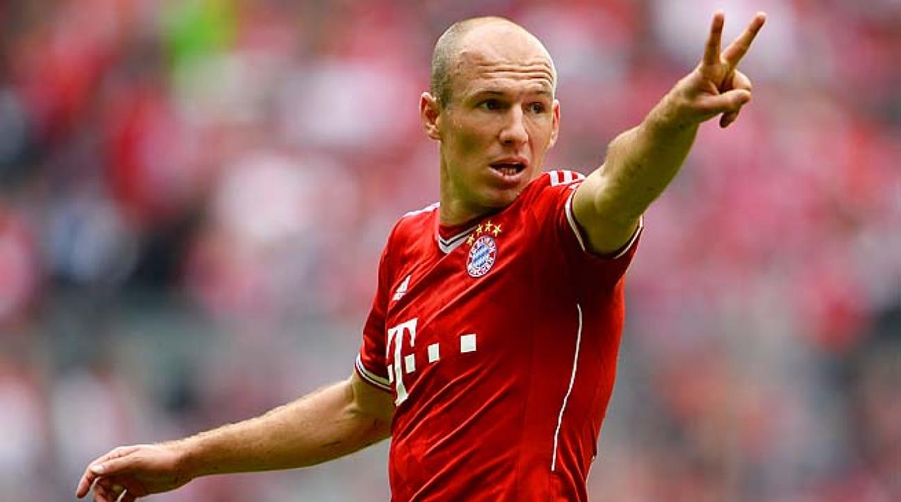 Arjen Robben and Bayern Munich are looking to complete a treble with the Bundesliga and German Cup.