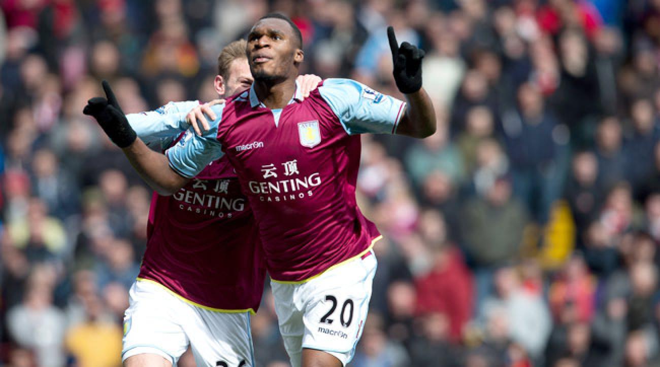Despite rumors of a move to Tottenham, star striker Christian Benteke is returning to Aston Villa.