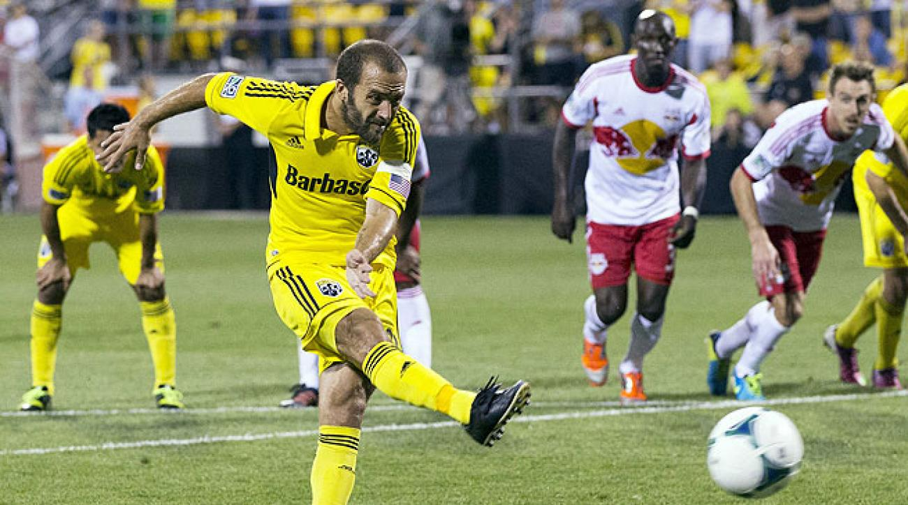 Federico Higuain's penalty kick against New York was topped by his superb effort later in the match.